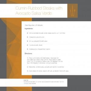 Recipe Design 3