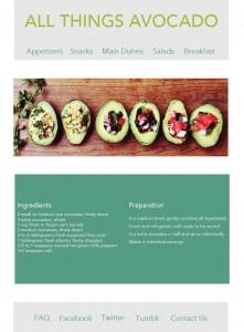 flat design recipe